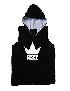Regata Masculina King MRBD Com Capuz Cor Preta