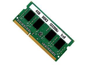 Memória Notebook 4gb Ddr3 1333 Mhz Pc3-10600