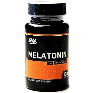 Melatonina Optimum 3mg - (100 Cápsulas)