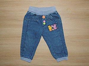 Calça Jeans Backyardigans GG (9 a 12 meses)