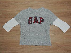Camisa Manga Longa  (18 a 24 meses) *Importada