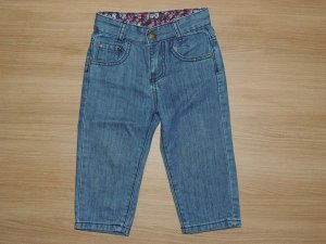 Calça Jeans Bolso Coração GG (9 a 12 meses)