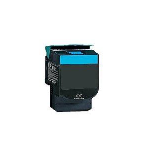 Toner C540 ciano C543 C544 X543 X544 X546 X548 Compatível 2k