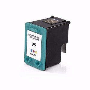 Cartucho HP 95 C8766 C8766WB Tricol Compatível 7 ml