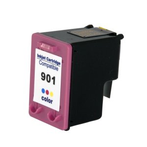 Cartucho HP 901XL CC656AL CC656AB Colorido Compatível 12ml