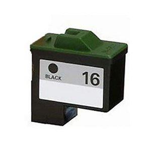 Cartucho Lexmark 10N1180 Preto 10n0016 16 X1195 X1185 Z517 Compatível