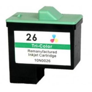Cartucho Lexmark 10N1190 Tricolor 10n0026 26 X1195 X1185 Z517 Compatível