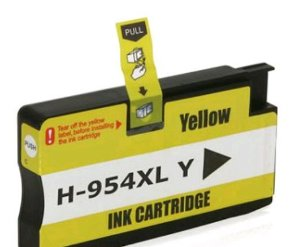 Cartucho HP 954XL HP Officejet Pro 8700 8715 7740 8710 8720 8740 8210 8716 8725 Amarelo Compativel 25ml