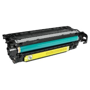 Toner CE402A CE252A 402A 252A Amarelo 507A HP M575 M551 CE250A 250A CM3530 CP3525 Compativel Universal