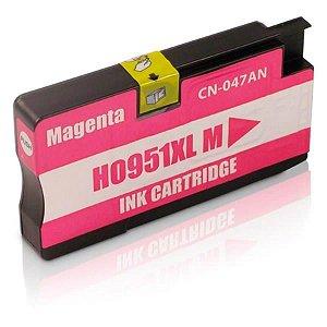 Cartucho HP 951xl Magenta CN047AL 951 8600W 251DW Compatível 1.5K