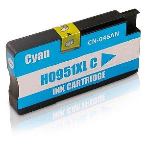 Cartucho HP 951xl Azul CN046AL 951 Compatível 19,5ml
