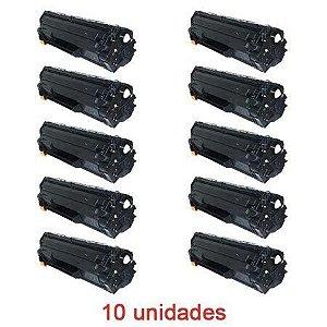 Toner Compativel HP CB436A 436A 36A P1505 P1505N M1120MFP M1522 M1522N 10 Unidades