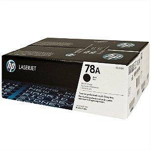 Toner HP CE278AF P1606 P1606DN P1566 P1560 P1600 Pro M1530  Black Original HP Duplo