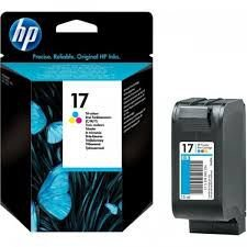 Cartucho HP 17 Tricolor 6625 2546 2646 2516 15ml Original