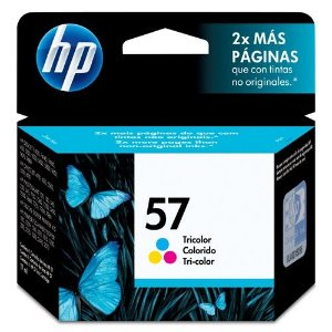 Cartucho HP 57 C6657AB 6657 7260 Tricolor 7550 7755 Original