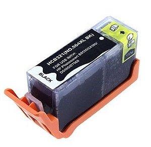 Cartucho HP 564XL Preto CB684WN B8550 C309 C5300 C6300 Compatível