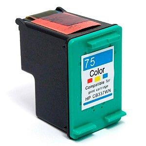 Cartucho HP 75XL CB338WL Tricolor CB338WB Compatível