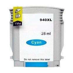 Cartucho HP 940XL Azul 940 C4907 C4907AL Compatível