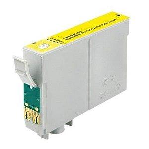 Cartucho Epson T103420 Amarelo 103420 103 T40W TX600FW Tx515 T1110 T550 Compatível