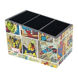 Porta-Treco Marvel - Colorido
