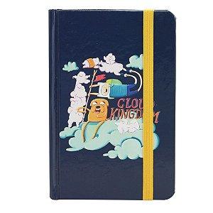 Caderno de Anotações Hora de Aventura - Jake e Finn nas Nuvens