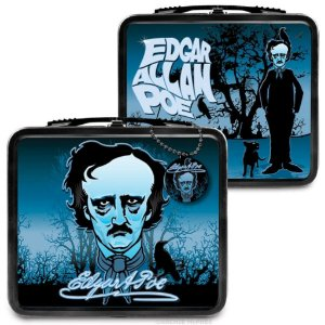 Maleta Metálica Edgar Allan Poe (LunchBox)