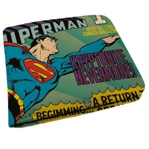Carteira DC Comics Superman Flying - Azul