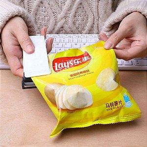 Mini Seladora de Embalagens de Alimentos Portátil