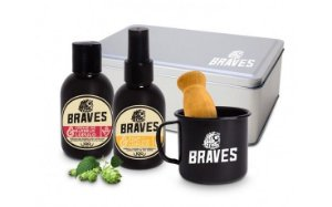 Kit de Barbear - The Braves - 4 Pçs
