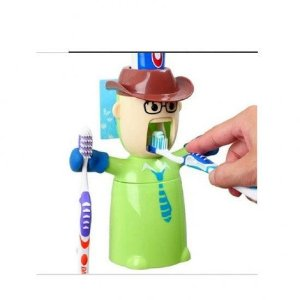 Cowboy Dispenser de Pasta de Dente - Verde