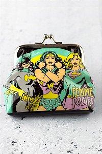 Porta Moedas DC Comics - Femme Power