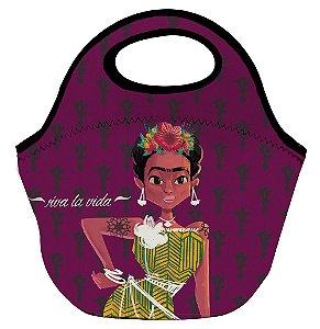Lancheira Neoprene - Viva La Vida Frida