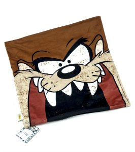 Capa de Almofada Looney Tunes - Taz