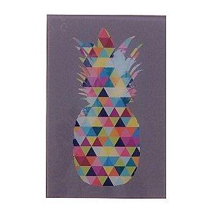 Quadro Triângulo - Abacaxi