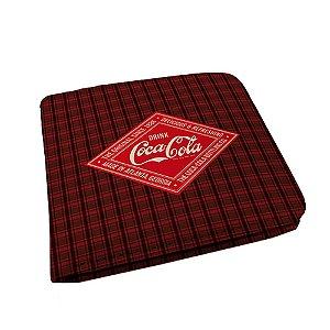 Carteira Coca-Cola - Xadrez