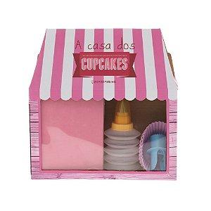 Kit para Cupcake - A Casa dos Cupcakes