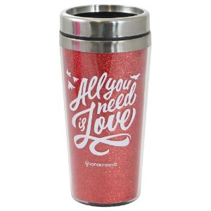 Copo Térmico Glitter - All You Need Is Love