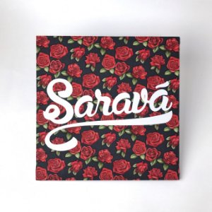 """Quadro Decorativo """"Saravá"""""""