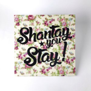 "Quadro Decorativo ""Shantay, you Stay!"""