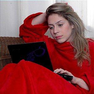 Cobertor com Mangas Adulto