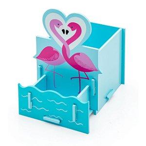 Porta Canetas - Flamingo