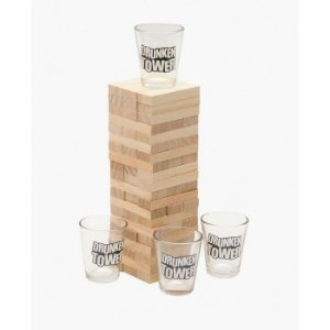 Copos para Shot + Torre Bêbada (Drunken Tower)