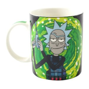 CANECA MAGIC - RICK AND MORTY