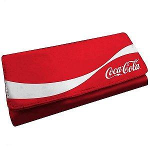 Carteira Coca-Cola Vermelha Clássica