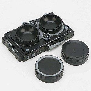 Estojo para lentes de Contato Câmera