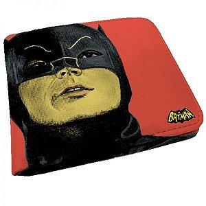 Carteira Batman Retrô Vermelha