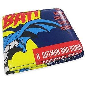 Carteira Batman Azul