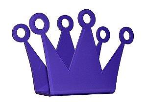 Porta Guardanapo Coroa Roxa