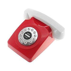 Telefone Retrô Vermelho