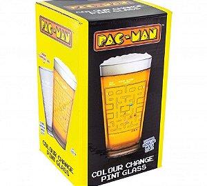 Copo de Vidro Muda de Cor Pac-Man